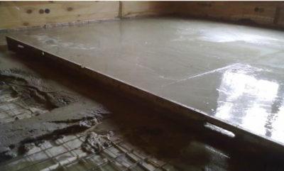 Как залить бетон на деревянный пол?