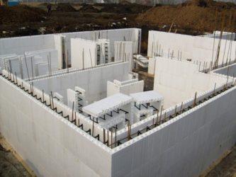 заливной бетон дом