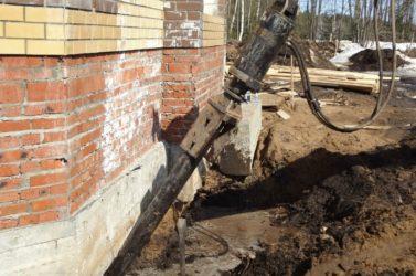усиление труб бетоном