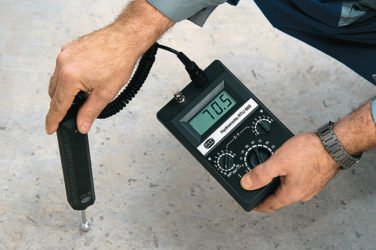 Как измерить влажность бетона?