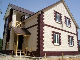 Чем облицевать фасад дома из газобетона?