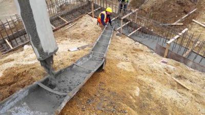 Залить цоколь бетоном цена на раствор цементный в москве
