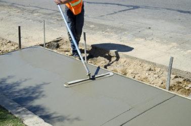 Чем выровнять бетон мятный бетон