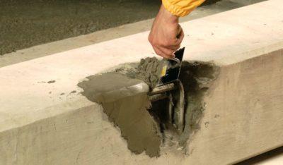 Раствор ремонт бетона бетон в миксере купить