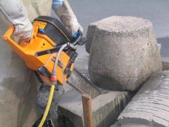 пилить армированный бетон