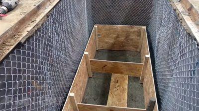 Залить яму бетоном кирпич керамзитобетон цена