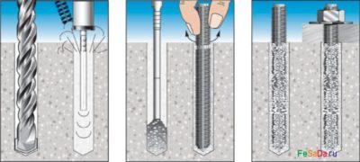 Закрепить в бетоне пропорции керамзитобетона в ведрах для бетономешалки