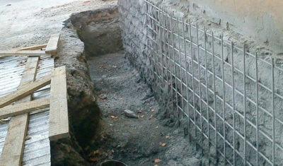 осыпающийся бетон