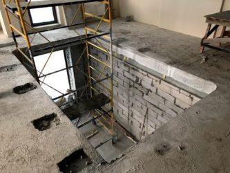Плиты перекрытия с отверстием под лестницу