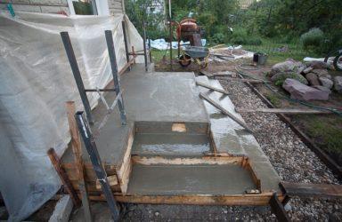 Заливка крыльца бетоном где купить бетон ростов
