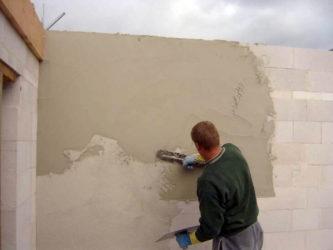 можно ли штукатурить цементным раствором по газоблоку