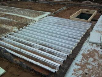 профнастил бетон