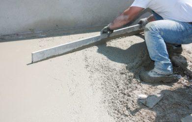чем разровнять бетон
