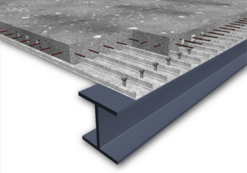 бетон по профнастилу