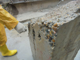 как уничтожить бетон