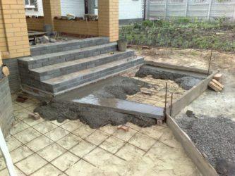Цементный раствор для крыльца купить бетон в анне воронежской