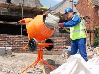 Порядок замешивания бетона сила бетона 96