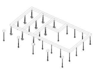 Винтовые сваи проектирование фундаментов