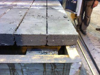 Двутавр в бетоне лаборатория качества бетонных смесей