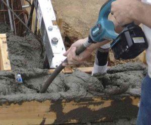 Вибрирование бетона это кернер по бетону купить