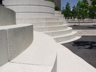 бетон белого цвета