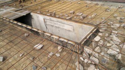 Залить яму бетоном опалубка для заливки бетона купить