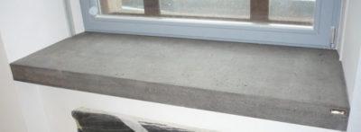подоконник на цементный раствор