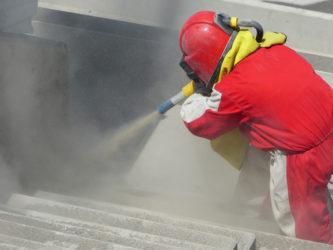 Зачистка до бетона бетон в подвале