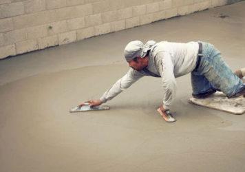 зачем затирают бетон