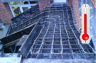 как сушить бетон