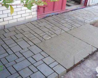 Брусчатка в бетоне сверление в бетоне цена москве отверстий