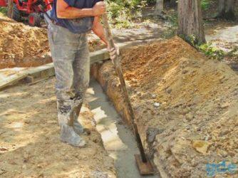 Бетон в траншею характеристика раствор цементный марки 150
