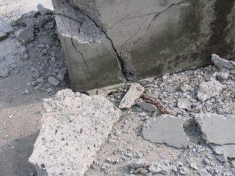 Как разрушить бетон залив бетоном крыльца