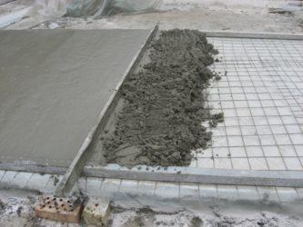 Подмороженный бетон бетон контур