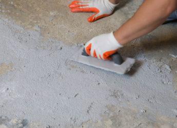 сбивание бетона