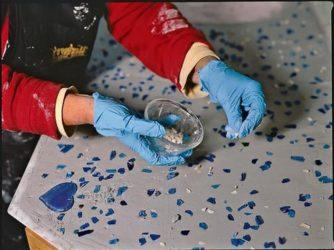 Битое стекло бетон бетон лакокраска